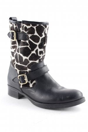 Fantasy Halbstiefel Animalmuster Street-Fashion-Look
