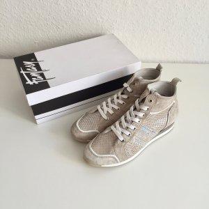 Fantasy ital. Sneaker Light Grey Gr. 39 1/2 komplett Leder New