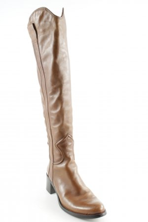 Fantasy Jackboots cognac-coloured country style