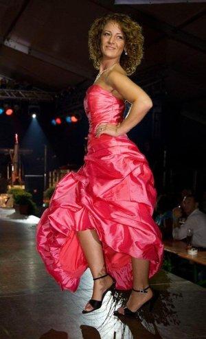 Abito da ballo rosa
