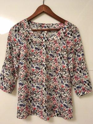 Farbenfrohe Bluse mit Blumen von Esprit