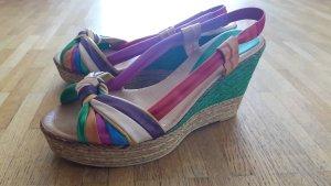 Farbenfrohe Sandalette Gr. 40
