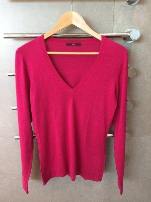 Farbenfroher Cashmere Pullover von Hugo Boss