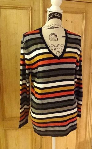Gerry Weber V-Neck Sweater multicolored viscose