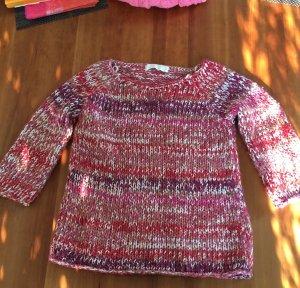 Farbenfroher Grobstrickpullover (Zara Knit)