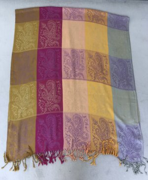Farbenfroher Pashmina Schal