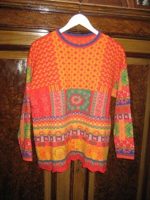 Oilily Oversized Sweater multicolored