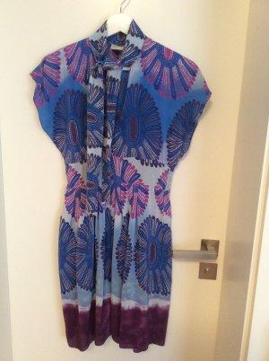 Robe Hippie multicolore soie