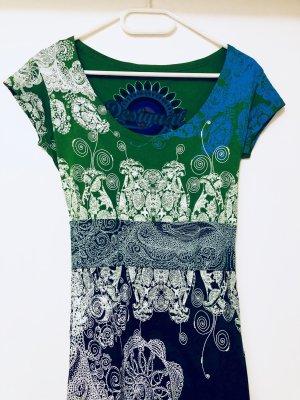 Farbenfrohes Sommerkleid - Gr. S - Desigual