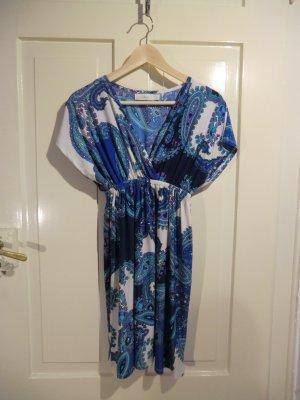 Farbenfrohes Sommerkleid von Costa Blanca, Größe M