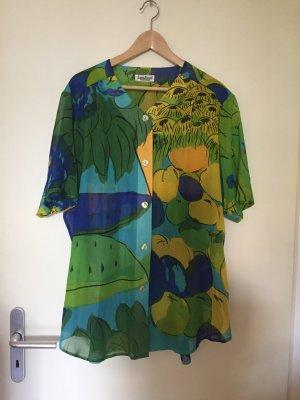 Farbenfrohes Strandhemd von Louis Feraud