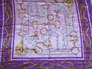 Farbenprächtiges Tuch in lila/violett von AIYARA - ca. 80 x 80 cm
