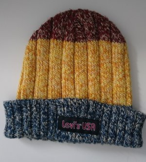 Levi Strauss Beanie multicolored wool