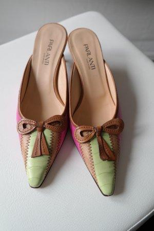 Farbige Schuhe von Parlanti