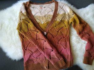 Farbverlauf Strickjacke Jacke Pullover Pulli Oberteil von Only Gr. 38 m medium wie neu