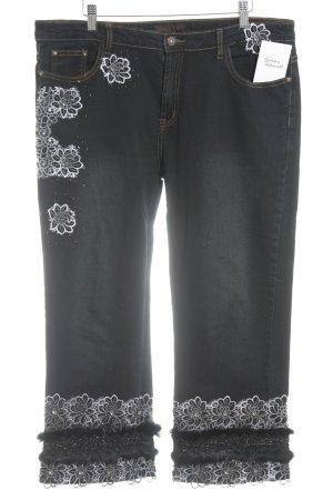 Farfalla Rosso Straight-Leg Jeans mehrfarbig Casual-Look
