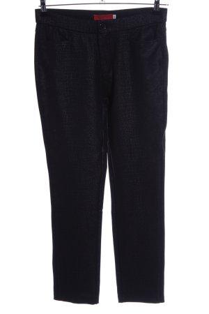 Farfalla Rosso Stretch broek zwart casual uitstraling
