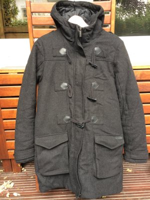 Bench Duffel Coat black polyester