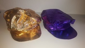 C&A Casquette à visière doré-violet