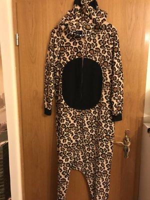 Faschingskostüm oder auch Pyjama Leo Muster Leopard