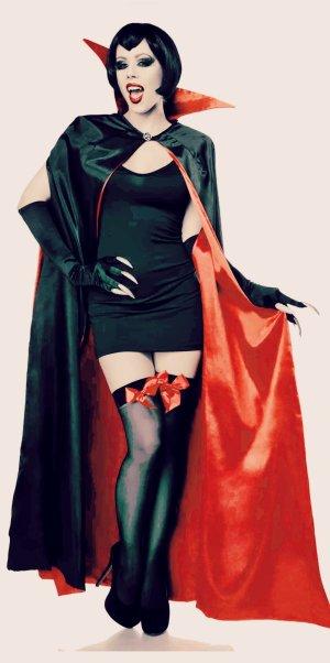 Faschingskostüm Vampira. Sehr sexy...Neu