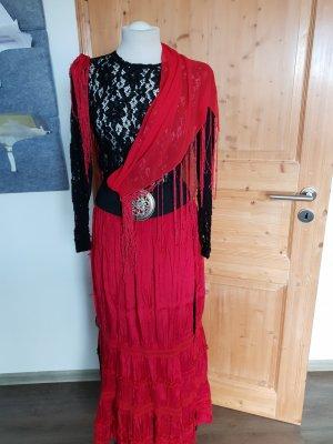 Ladies' Suit black-red