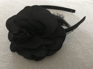 Cerchietto per capelli nero