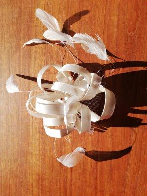 Veil white silk