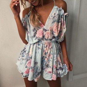Fashion Blogger summer Jumpsuit Größe M
