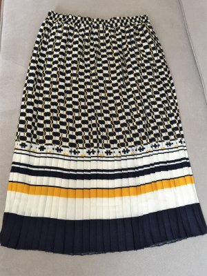 Pleated Skirt multicolored polyester