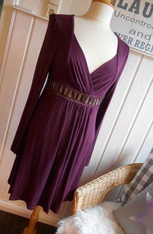 Fashion Elle Tunikakleid Mini Kleid in Wickeloptik
