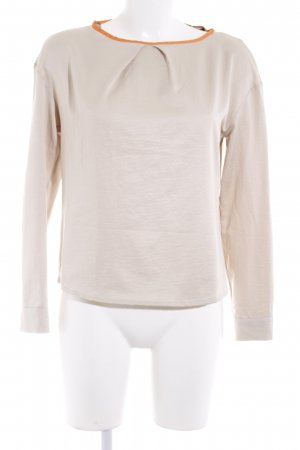 fashion hero for Karstadt Schlupf-Bluse hellbeige-orange Casual-Look