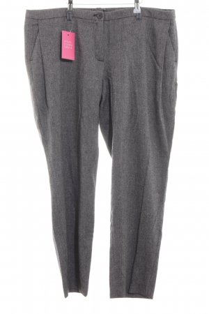 fashion hero for Karstadt Woolen Trousers light grey allover print classic style