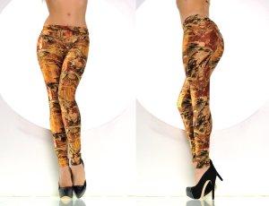 "Fashion Highlight Leggings ""Herbst & Winter "" Design Größe S/M"