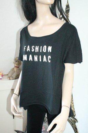 FASHION MANIAC *  cooles Statement Shirt * oversize * Größe XL *