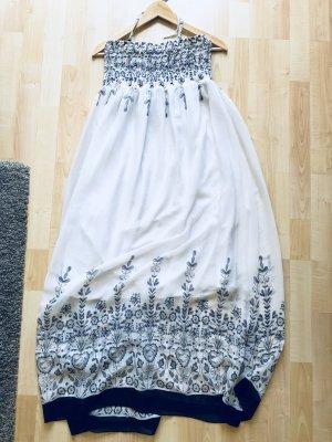 Off-The-Shoulder Dress white-black