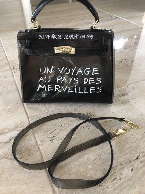 100% Fashion Gekruiste tas zwart
