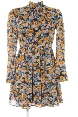 Fashion Union Blusenkleid Blumenmuster Casual-Look