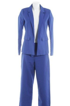 Fashion Union Hosenanzug blau Business-Look