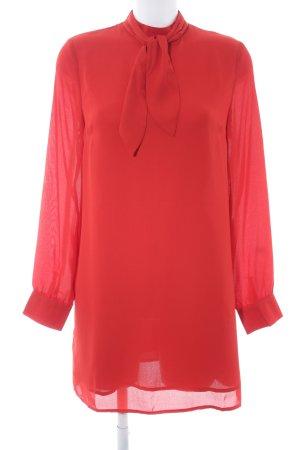 Fashion Union Langarmkleid rot Elegant