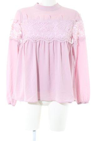 Fashion Union Rüschen-Bluse pink Elegant