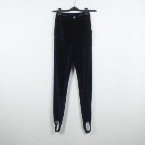 Fashion Union Pantalón con estribo azul oscuro Poliéster