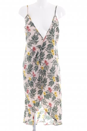 Fashion Union Wickelkleid florales Muster Beach-Look