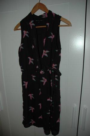 Fashion Union  Wickelkleid mit romantischem Muster NEU