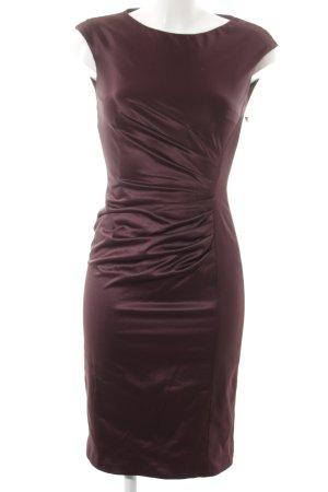 Fashionart Etuikleid braunviolett Elegant