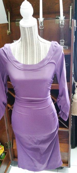 Fashionart Kleid Cocktailkleid lila XS S 34 36