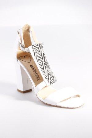 Fashionchick Riemchen-Sandale weiß
