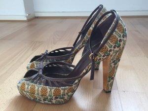 Fashionista Plateau-Peeptoe von Gucci