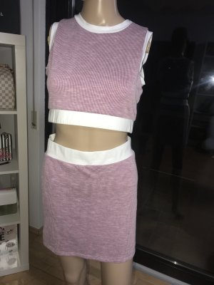 FashionNova Two Piece Zweiteiler Outfit Crop Top Gr. Small