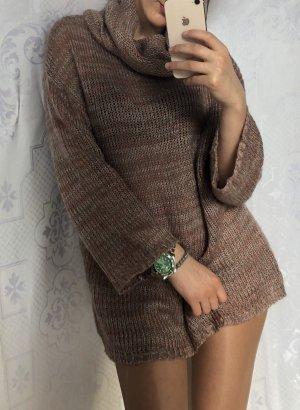 H&M Jersey largo marrón-marrón claro